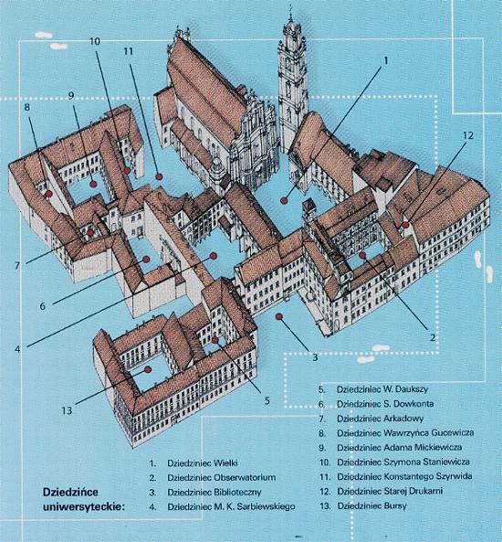 plan uniwersytetu